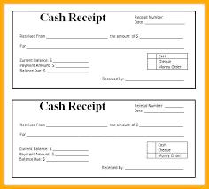 Free Printable Cash Slip Format Receiving Money Receipt