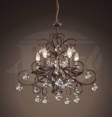 kelly stylish dark amber crystal 5 light chandelier 20 w x 21 5