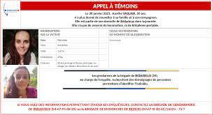 Disparition d'Aurélie Vaquier dans l'Hérault : ses proches organisent des  recherches ce dimanche à Bédarieux