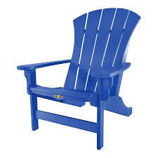 Light Blue Plastic Adirondack Chairs Amazon Com Original Pawleys Island Srac1blu Durawood