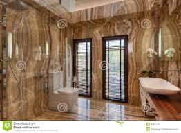 Modern Marble Bathroom Marble Bathroom In Modern House Royalty Free Stock Photo Image