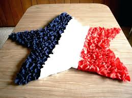 star shaped rug red white blue star shaped rug made with ruffles star shaped rug for nursery