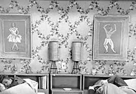 I Love Lucy Bedroom Paintings I Love Lucy Decor The Ricardos Bedroom  Wallpaper 50slucy