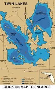 Lake Lochloosa And Lake Orange Information Guide Florida Lake