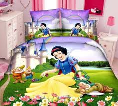 fast kids snow white batman spongebob bedding set twin full queen size
