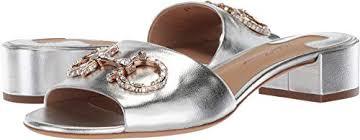 Ferragamo Women S Shoe Size Chart Amazon Com Salvatore Ferragamo Womens Lampio Silver Nappa