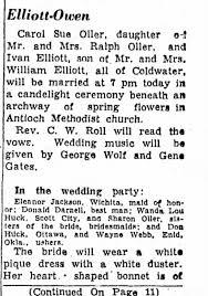Ivan Elliott marriage - Newspapers.com