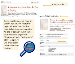 Explanation Example Apa Ebook Anthology Or Textbook Chapter