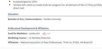 Example Of Online Resume How To List Online Courses On A Resume Examples And Tips ZipJob 22