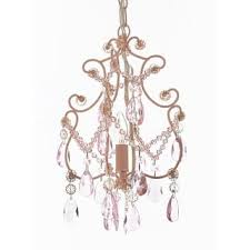 wrought iron and crystal 1 light chandelier pendant pink lighting hardwire plug in perfect for pink pendant light e27