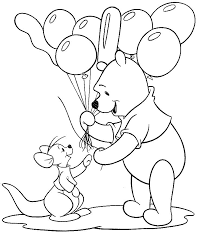 Small Picture Pooh Piglets Coloring Pages