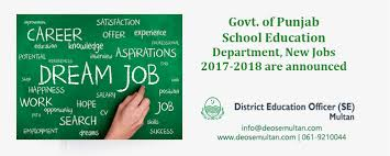 New Jobs School Education Department New Jobs 2017 2018 Are