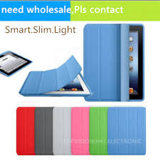 nice magnetic leather slim smart cover for apple ipad 4 3 2 case crystal transpa