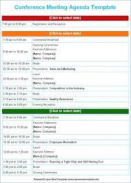 Meeting Agenda Template Free | Etxauzia.org