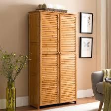 floor cabinet with doors 7 tier natural bamboo floor cabinet floor cabinet with glass doors