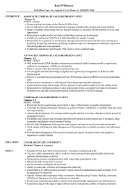 Sales Representative Resume Corporate Sales Representative Resume Samples Velvet Jobs 57