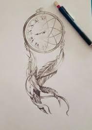 Dream Catcher Tattoo Sketch View Drawn Dreamcatcher Realistic Pencil Color 100 Dream Catcher 16
