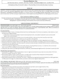 Corporate Resume Examples Real Estate Attorney Resume Mple