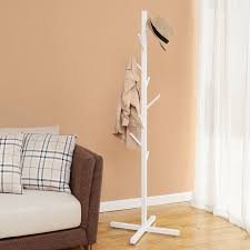 White Coat Rack Tree Simple 32 Cool Coat Racks That Really Branch Out