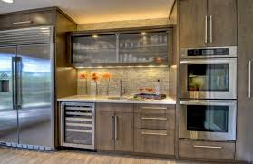 modern glass cabinet doors. Plain Glass 28 Kitchen Cabinet Ideas With Glass Doors For A Sparkling Modern Home  Regard To Cabinets 14 In