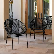 woven metal furniture. Sarcelles Woven Wicker Patio Chairs By Corvus (Set Of 2) - Free Shipping Today Overstock 23999647 Metal Furniture