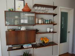 Mixing Kitchen Cabinet Colors Plain Cream Wall Paint Color Background Mixed With Wooden Wall