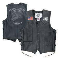 last of the street survivors leather vest