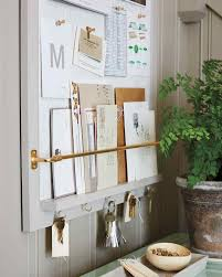 office corkboard. the school permission slip envelope that needs to be posted this back office corkboard s