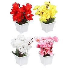 <b>Цветок искусственный декоративный</b> в горшке, 17х8х8 см ...