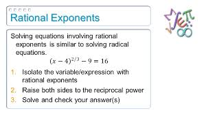 36 rational exponents
