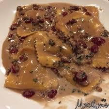 ernut squash ravioli in browned er