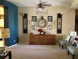 plain diy living room wall decor 16
