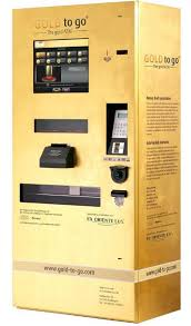 Gold Bar Vending Machine Las Vegas Enchanting Vegas ATM Dispenses Gold Instead Of Cash Consumerist