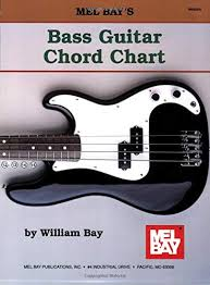 4 String Bass Guitar Chords Chart Bass Guitar Chord Chart William Bay Amazon Co Uk Musical