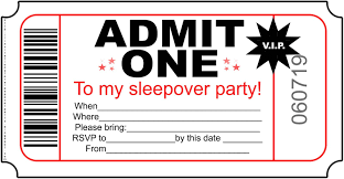 Free Printable Sleepover Party Invitations Hundreds Of