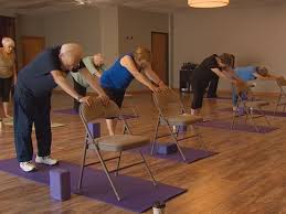 chair yoga for seniors. chair yoga gives seniors\u0027 health a lift for seniors