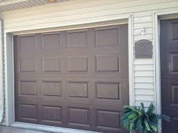painting garage doorPainted Garage Doors Simple  Painted Garage Doors with Neutral