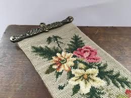 vintage swedish fl cross stitch