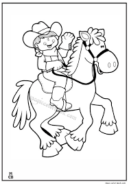 Cowboy Coloring Pages And Cowboy Coloring Pages Free 9 For Produce