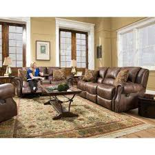 reclining living room furniture sets. Stratton 2-Piece Chocolate Sofa And Loveseat Living Room Set Reclining Furniture Sets