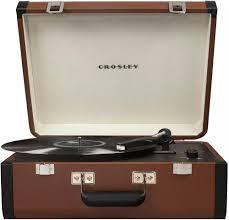 <b>Виниловый проигрыватель Crosley Portfolio</b> CR6252A (коричневый)