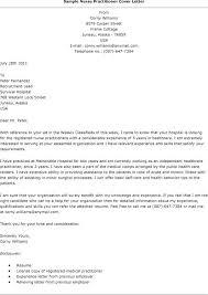 Sample Cover Letter For Nurses Cover Letter Nursing Cover Letter