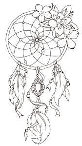 Dreamcatcher Stencil Dreamcatcher Free Tattoo Stencil