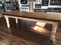 farmhouse table ash top