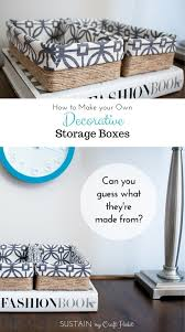 Diy Decorated Storage Boxes But Diy Decorated Storage Boxes The
