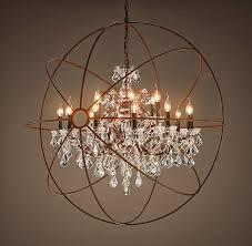 restoration hardware chandelier. Restoration Hardware Chandelier, Vintage Romance Style Featured On Remodelaholic Chandelier W
