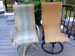 furniture patio chair repair mesh beautiful replacement amazing regarding 12