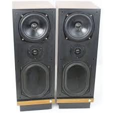 kef tower speakers. rare vintage kef calinda sp-1053 hi-fi floor standing speakers inc warranty kef tower