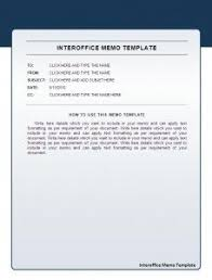 Inter Office Memo Format Interoffice Memo Template Memo Template Memo Format