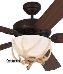 52 rustic dakota faux antler ceiling fan